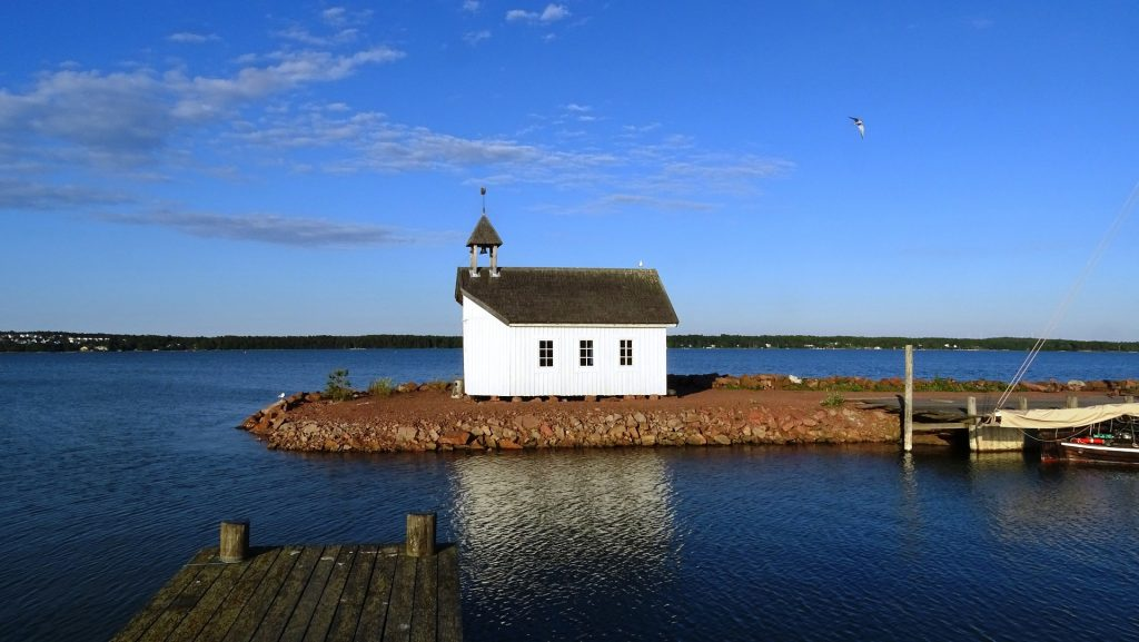A water body around Aland Islands